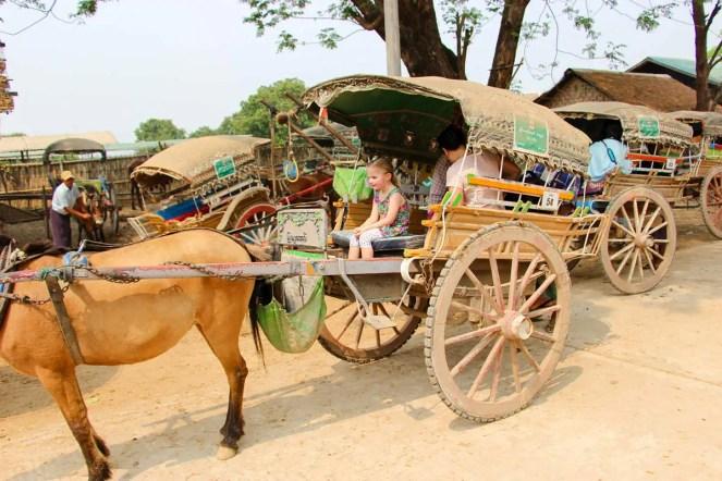 Pferdekutsche Inwa