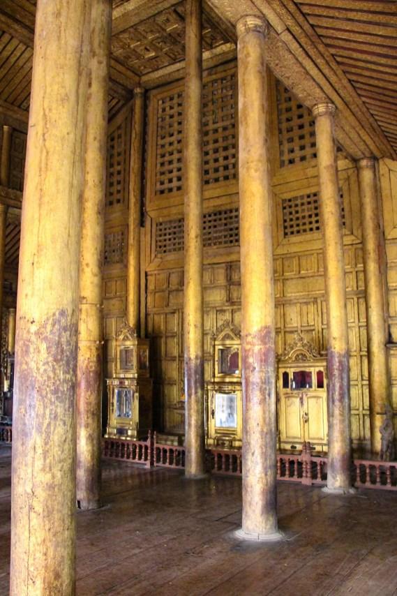 Shwenandaw Kloster von innen