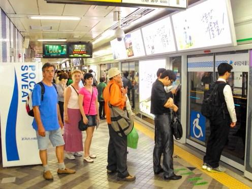U-Bahn Station Seoul