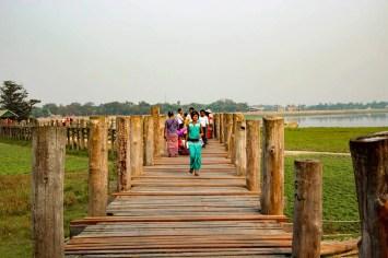 U-Bein Brücke Mandalay
