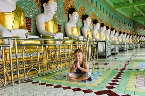 U Min Thonze Pagode Sagaing