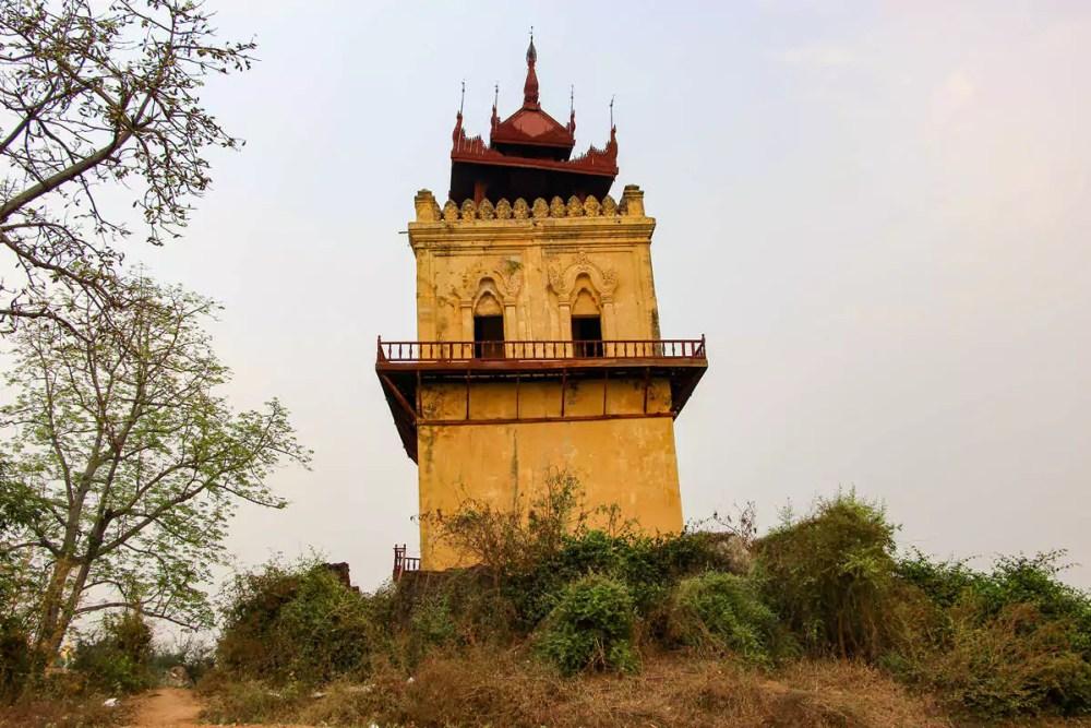 Wachturm Inwa Mandalay