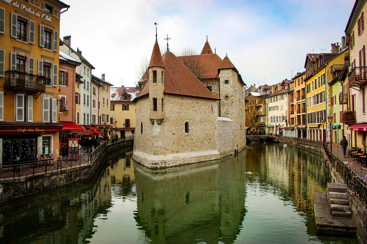 Annecy im Winter