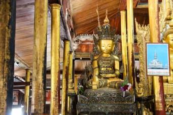Buddha im Nga Phe Kyaung Kloster