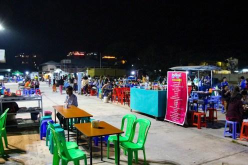 Nachtmarkt in Nyaung Shwe