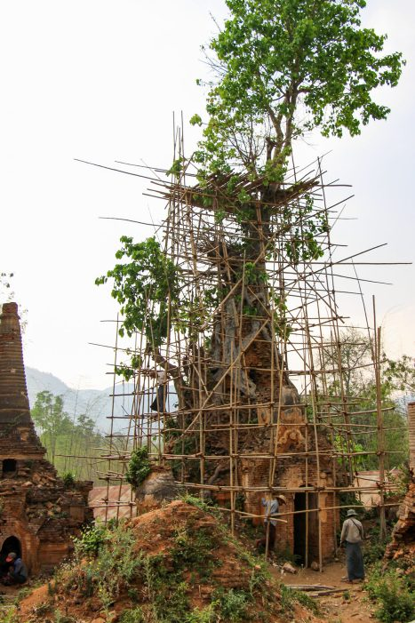 Shwe In Thein Pagode am Inle-See
