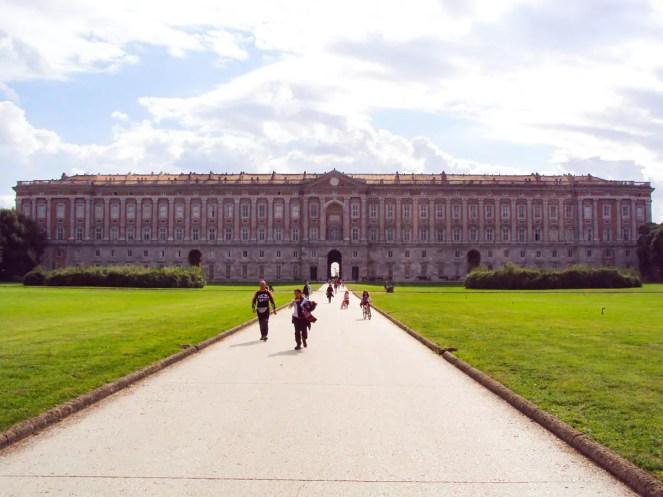 Palast von Caserta in Italien