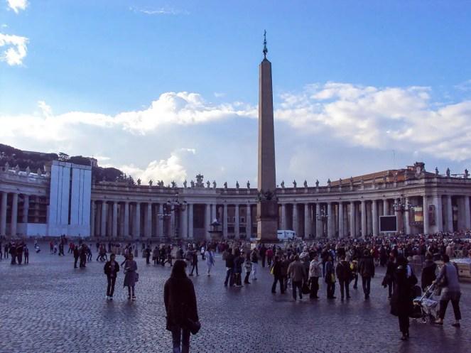 Petersplatz in der Vatikanstadt