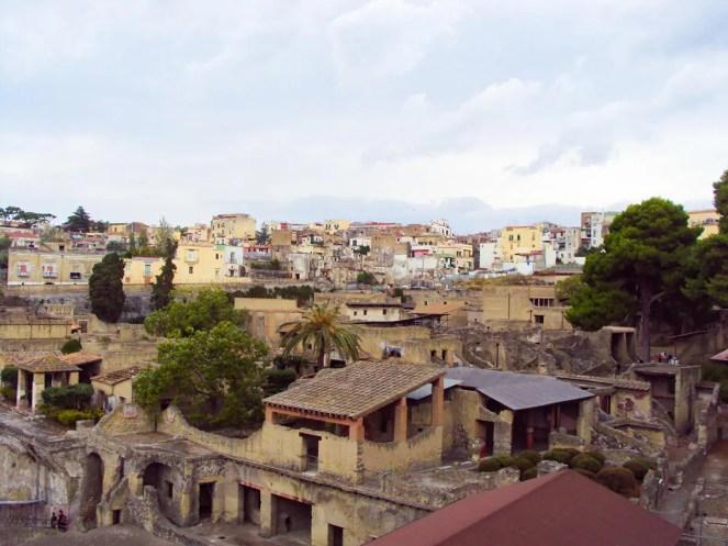 Ruinen von Herculaneum in Ercolano