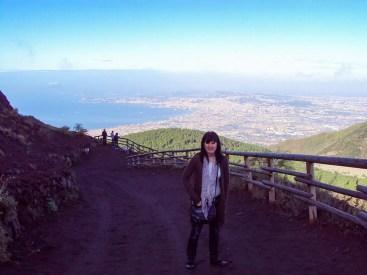 Zu Fuß zum Vesuv-Krater