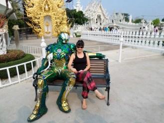 Alien Weisser Tempel Chiang Rai