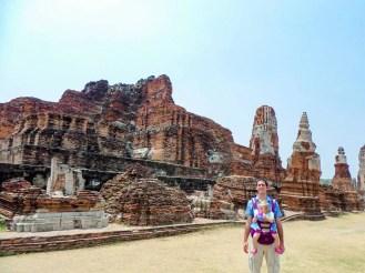 Tempelanlage Wat Mahathat Ayutthaya