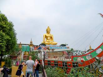 Buddha im Goldenen Dreieck Park