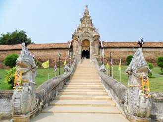 Eingang Wat Phra That Lampang Luang