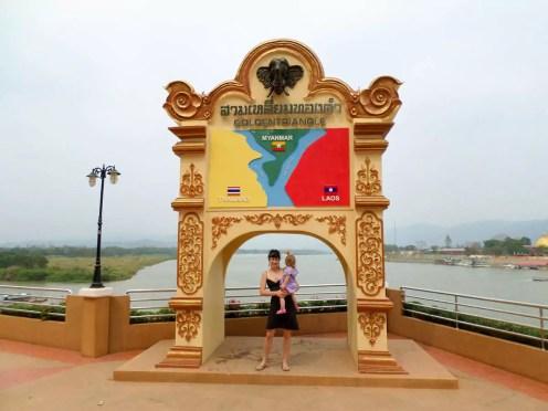 Goldenes Dreieck in Thailand