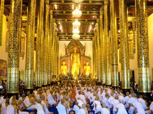 Intakhin Pillar Vihara in Chiang Mai