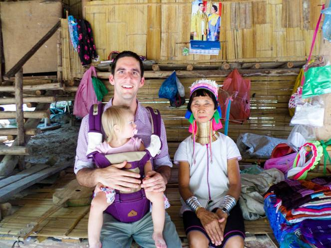 Karen Long Neck Village in Chiang Mai