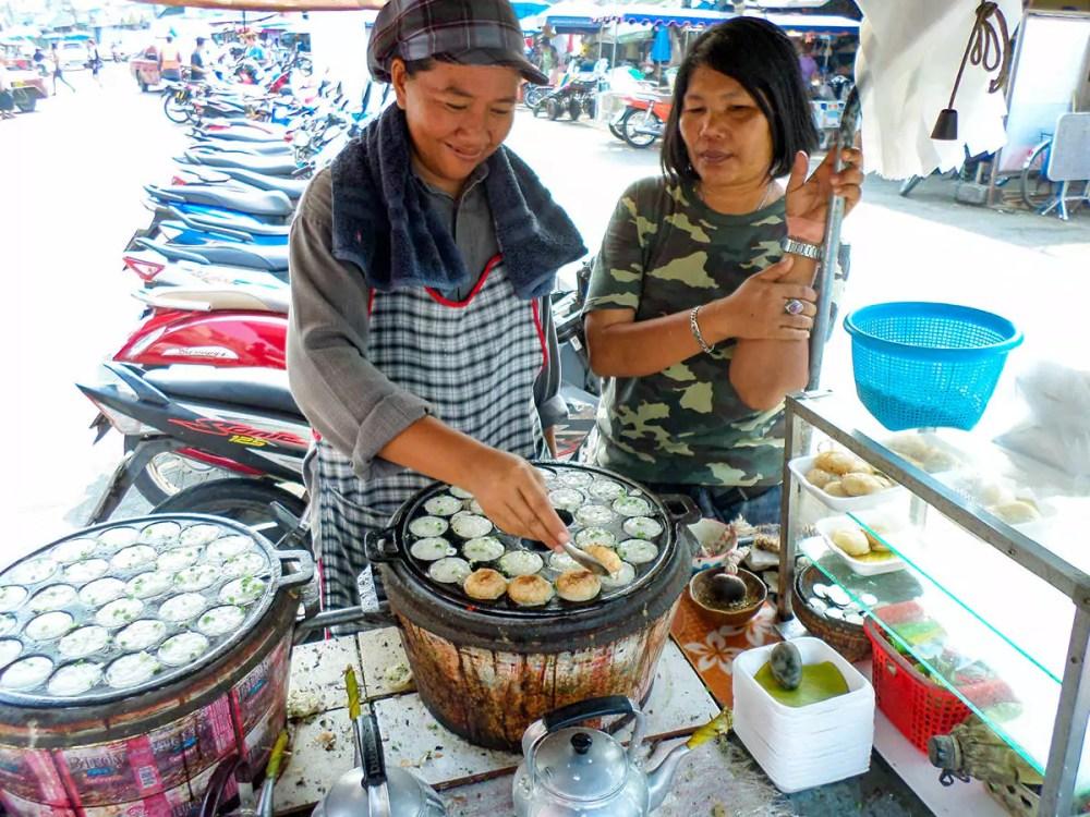 Kokosnuss-Reis-Pfannkuchen