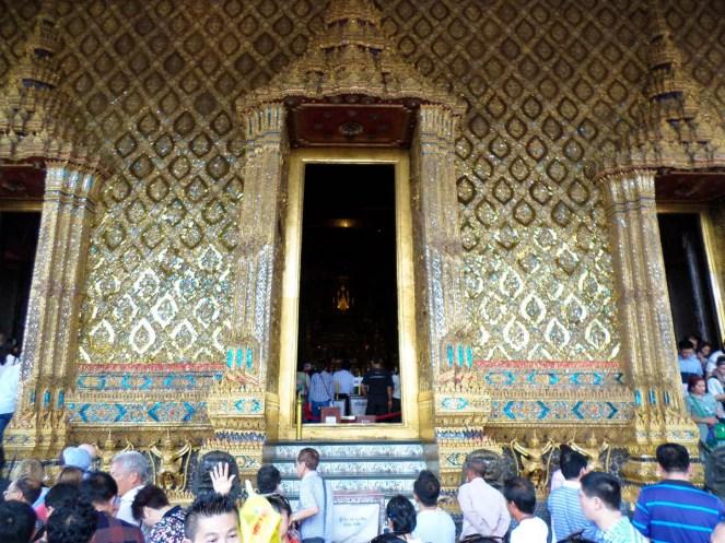 Tempel Smaragd Buddha in Bangkok