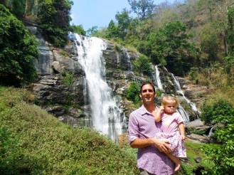 Wasserfall im Doi Inthanon Nationalpark
