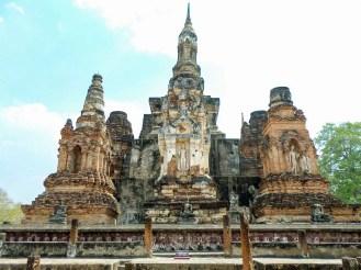 Wat Mahathat Tempel in Sukhothai