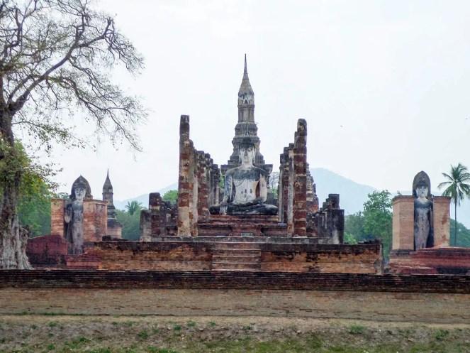 Wat Mahatthat Tempelanlage in Sukhothai