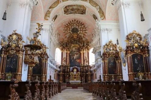 Altar der Schutzengelkirche in Eichstätt