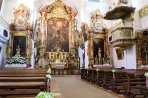 Altar in der Klosterkirche St. Walburg in Eichstätt