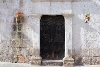 Altes Haustor in Arequipa