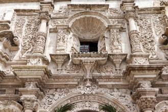 Fassade der Iglesia de San Agustín (Arequipa)