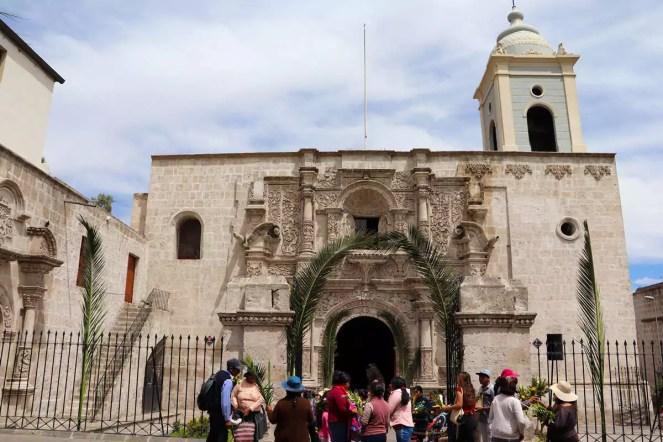 Iglesia de San Agustín in Arequipa
