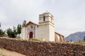 Kirche San Sebastián de Pinchollo