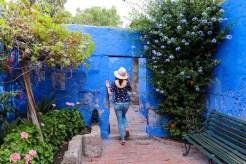 Ein kleiner Hof im Santa Catalina