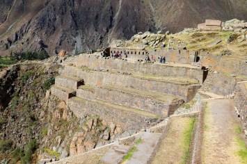 Inka Festung von Ollantaytambo
