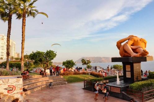 Parque del Amor in Lima