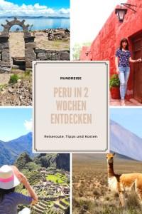 Peru Rundreise Sehenswürdigkeiten