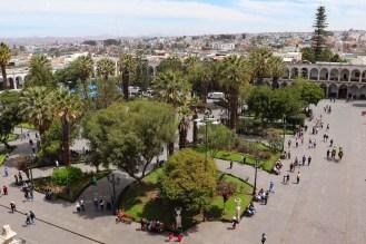 Plaza de Armas in Arequipa