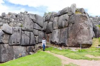 Große Steine von Sacsayhuamán