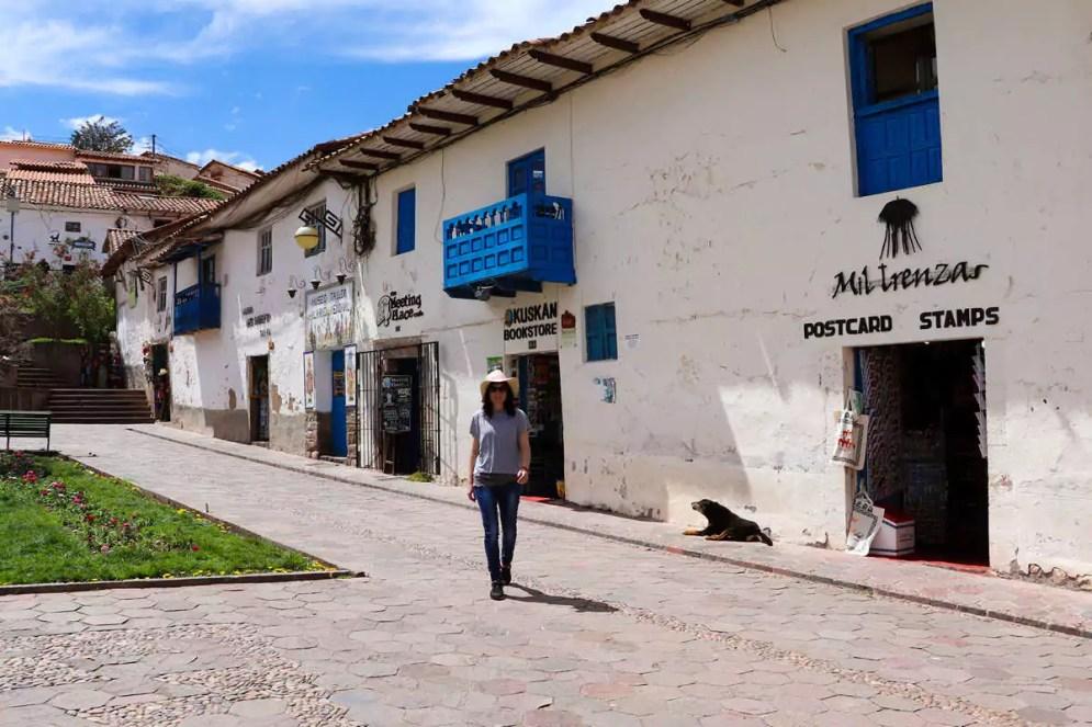 Im Stadtviertel San Blas