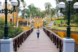 Seufzerbrücke in Barranco