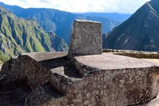Sonnenuhr von Machu Picchu
