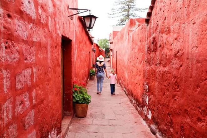 Straße Toledo Santa Catalina Arequipa