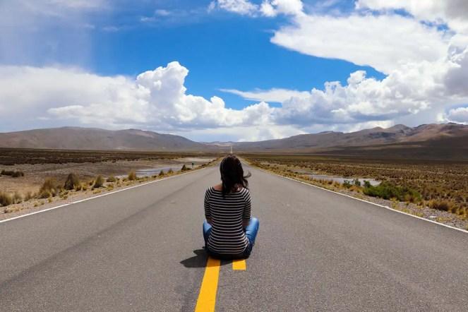 Auf dem Weg nach Mirador de los Andes