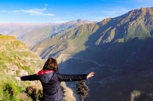 Aussicht auf Colca Canyon