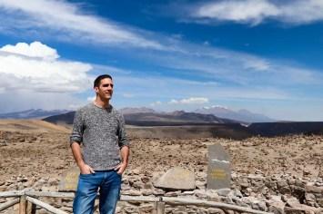 Aussicht Mirador de los Andes