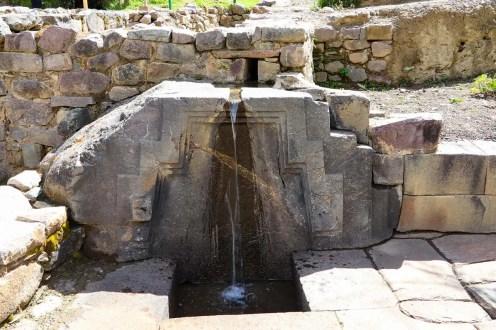 Baño de la Ñusta in Ollantaytambo