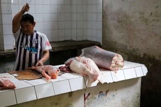 Fischmarkt Belén Iqutios