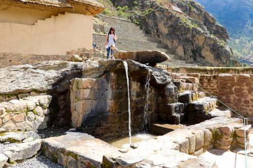 Fuente Ceremonial in Ollantaytambo