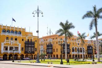 Palacio Municipal de Lima (Stadtpalast von Lima))