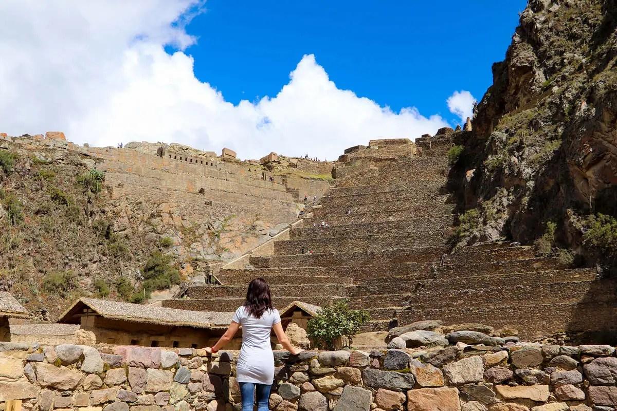 Ruinen von Ollantaytambo